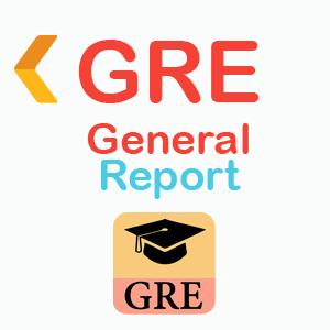 ارسال ریپورت نمره آزمون جی آر ای جنرال GRE General