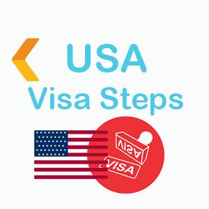 USA VISA saite icon